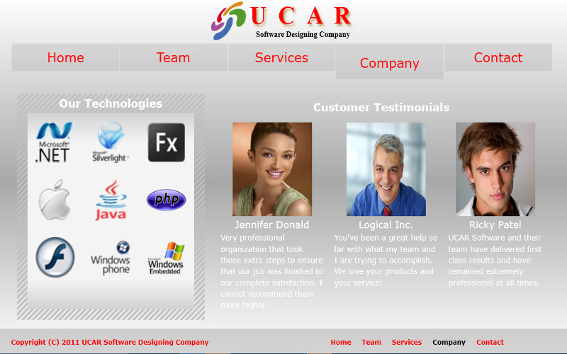 Ucar Software Design | Volcor Software