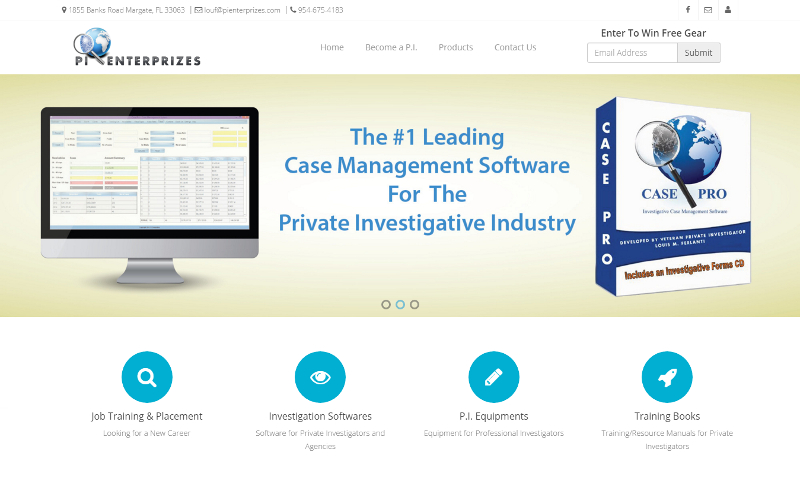 Investigative eCommerce Website | Volcor Software